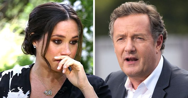 Piers Morgan Sparks Feud over Meghan Markle's Claims of Racism — Watch the Heated Exchange