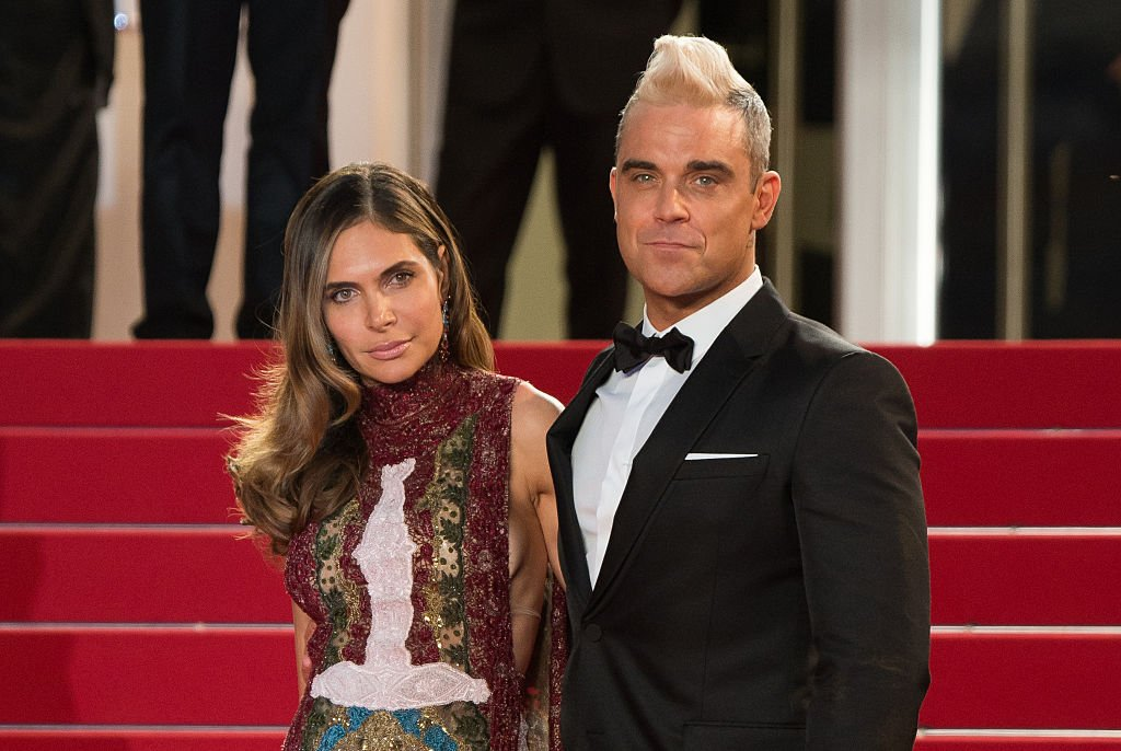 """Robbie Williams and Ayda Field attend """"The Sea Of Trees"""" Premiere during the 68th annual Cannes Film Festival on May 16, 2015.   Photo: Getty Images"""