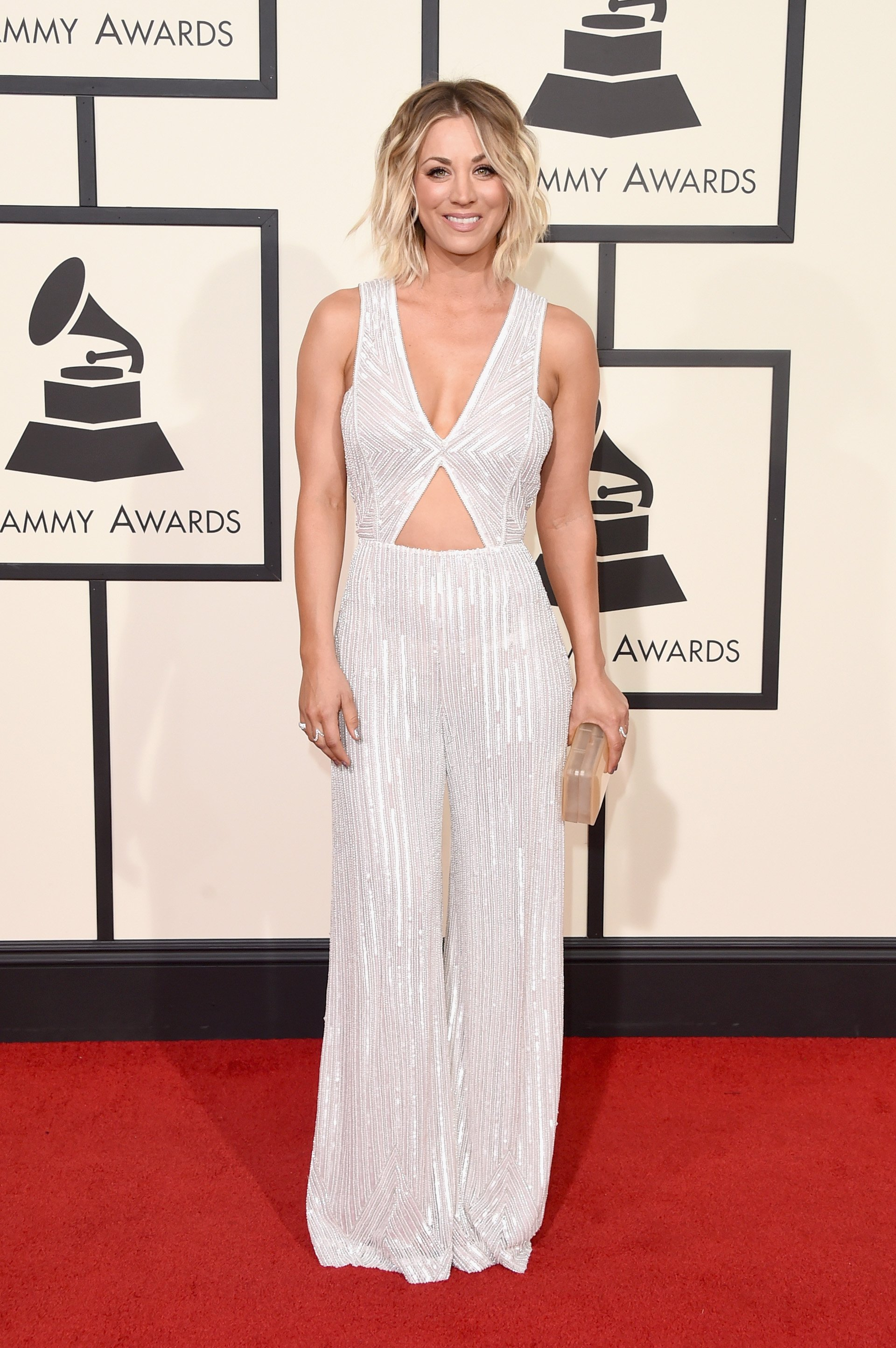 Kaley Cuoco attends The 58th GRAMMY Awards at Staples Center on February 15, 2016 in Los Angeles, California   Photo: Getty Images