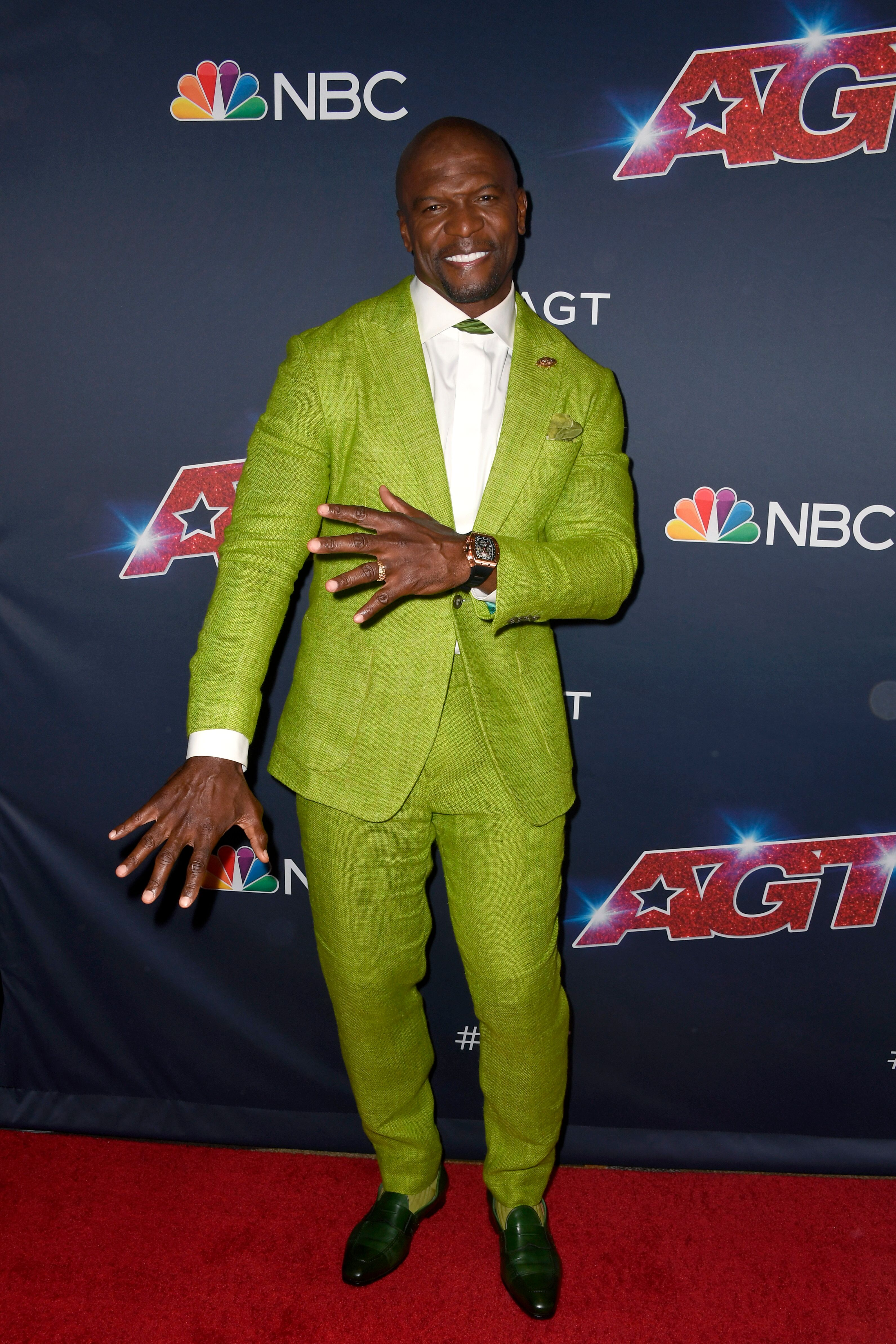 """Terry Crews arrives at the """"America's Got Talent"""" Season 14 Live Show at Dolby Theatre on August 13, 2019 in Hollywood, California. 