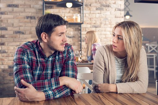 Husband tells wife that he expects her to do all the house chores if she quits her job | Photo: Getty Images