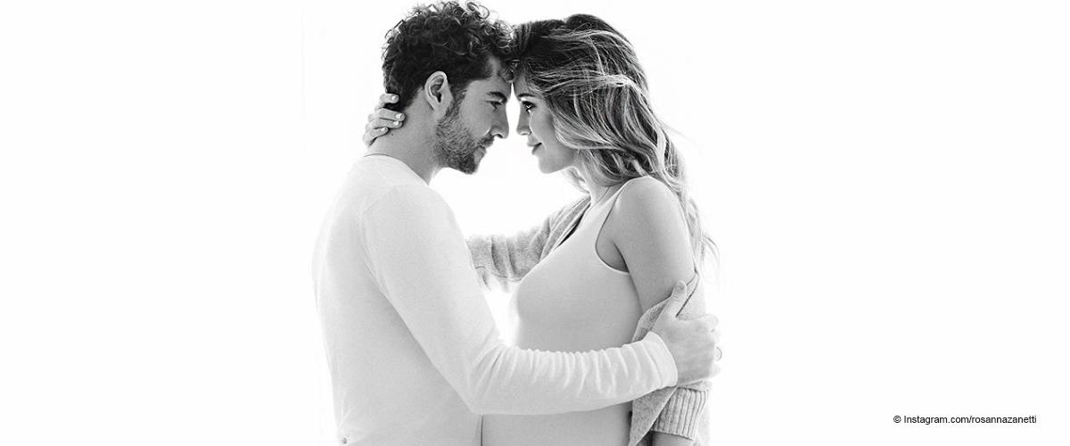 Impactantes fotos del embarazo de Rosanna Zanetti con su esposo David Bisbal