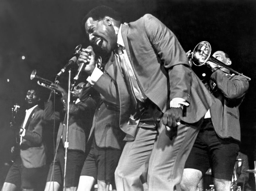 American singer and songwriter Otis Redding (1941 - 1967) at Hunter College, New York City, 21st January 1967 | Photo  : Getty Images