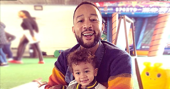 Chrissy Teigen Shares Photo of Son Miles Who Looks like Husband John Legend with His Big Brown Eyes