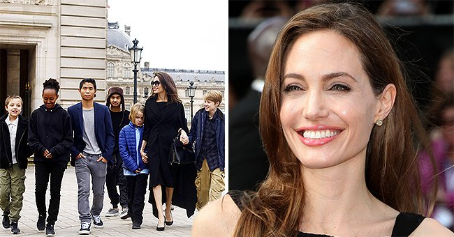 E! Online: How Angelina Jolie Feels Spending Quarantine with Her 6 Kids at Home