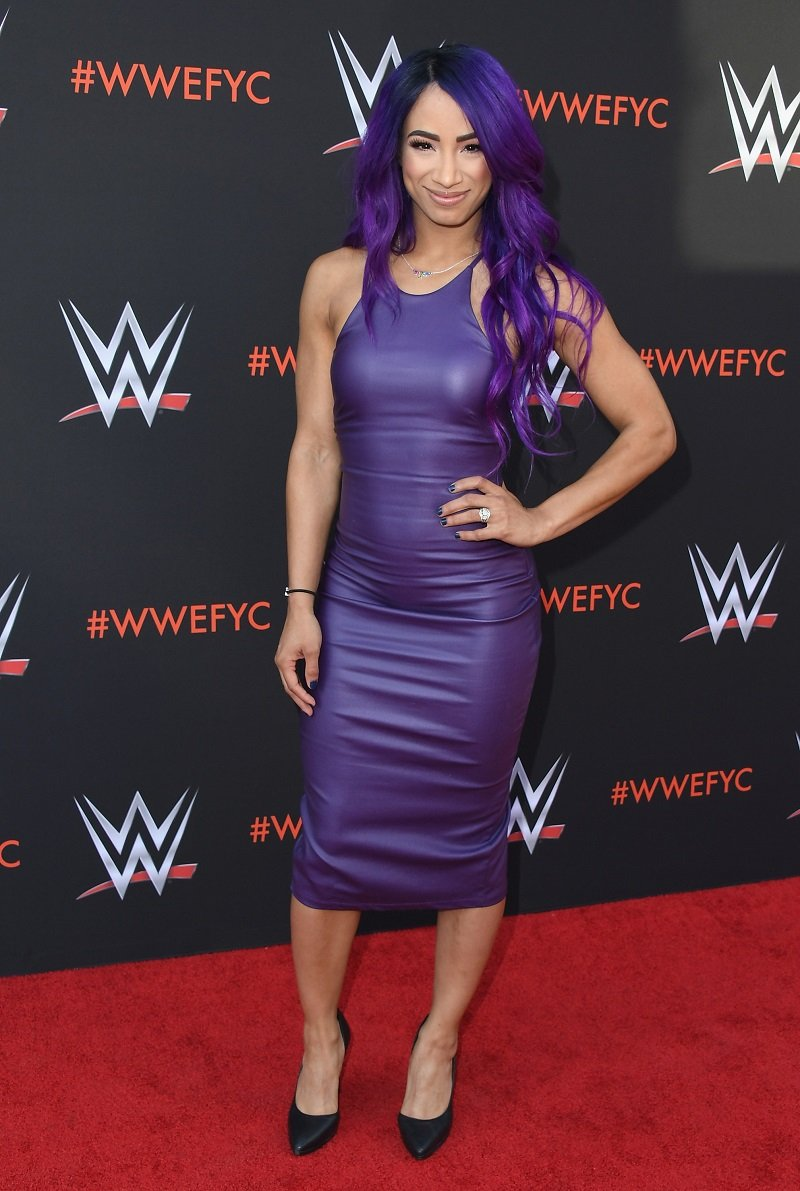 Sasha Banks on June 6, 2018 in North Hollywood, California | Photo: Getty Images