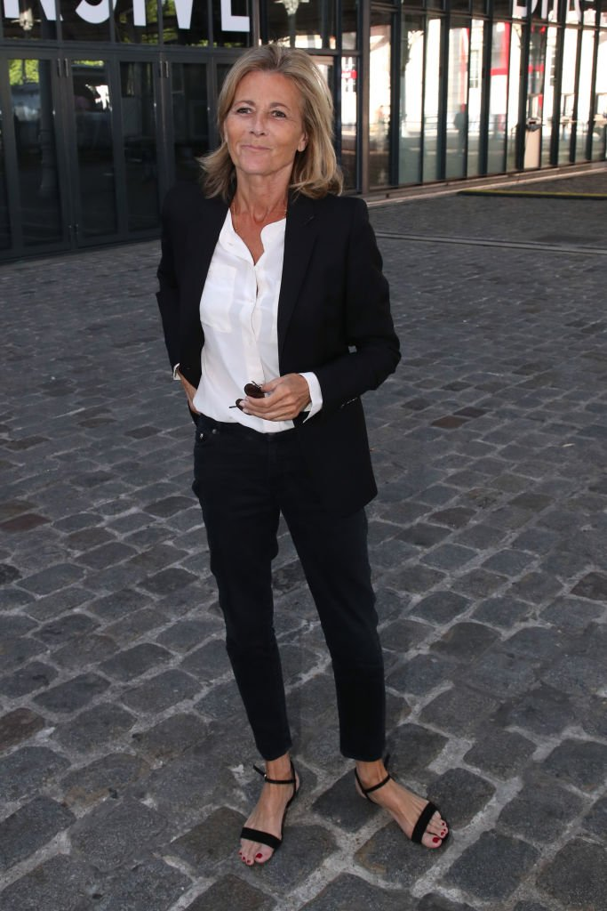 L'animatrice Claire Chazal. | Photo : Getty Images