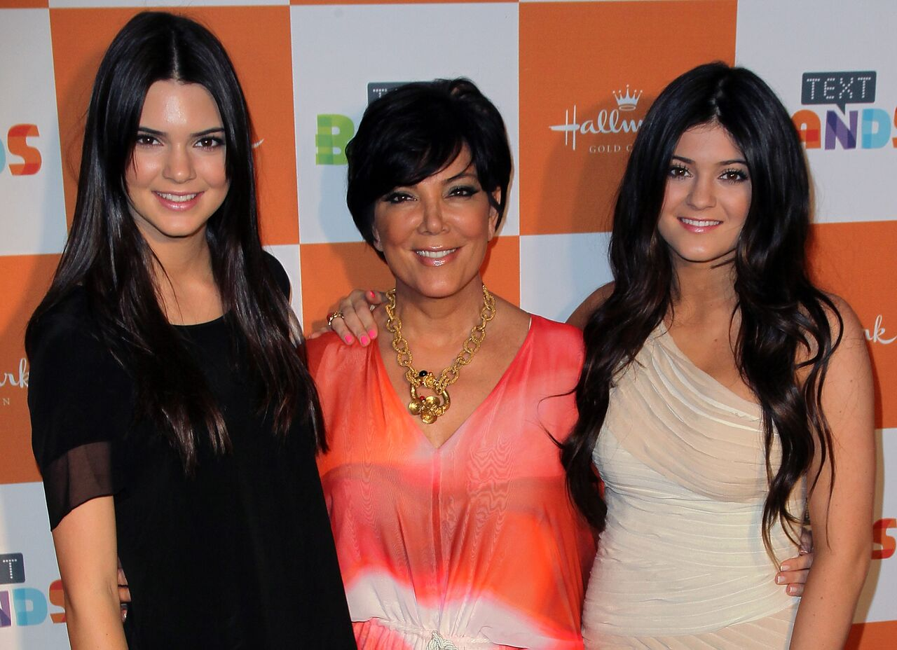 TV personalities Kendall Jenner, Kris Jenner and Kylie Jenner attend the Cody Simpson album preview party. | Source: Getty Images