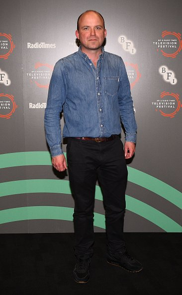 Rory Kinnear lors d'un appel photo pendant le festival de télévision Radio Times au BFI Southbank. | Photo : Getty Images