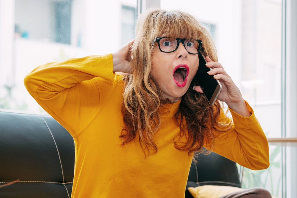 The wife heard noises outside and called her husband in a panic.   Photo: Shutterstock