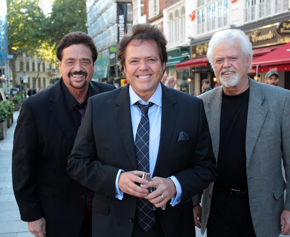 The Osmonds: Jimmy, Jay and Merrill seen at Global House on Sep 23, 2015 in London. | Source: Shutterstock