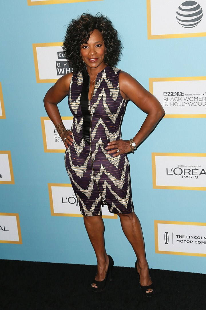 Actress Vanessa Bell Calloway arrives at the Essence 9th Annual Black Women event in Hollywood at the Beverly Wilshire Four Seasons Hotel on February 25, 2016 in Beverly Hills, California. I Image: Getty Images.