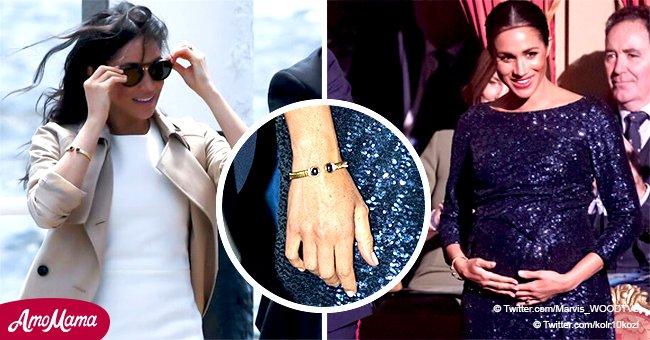 Meghan Markle rend hommage à la défunte princesse Diana pour la deuxième fois pendant sa grossesse
