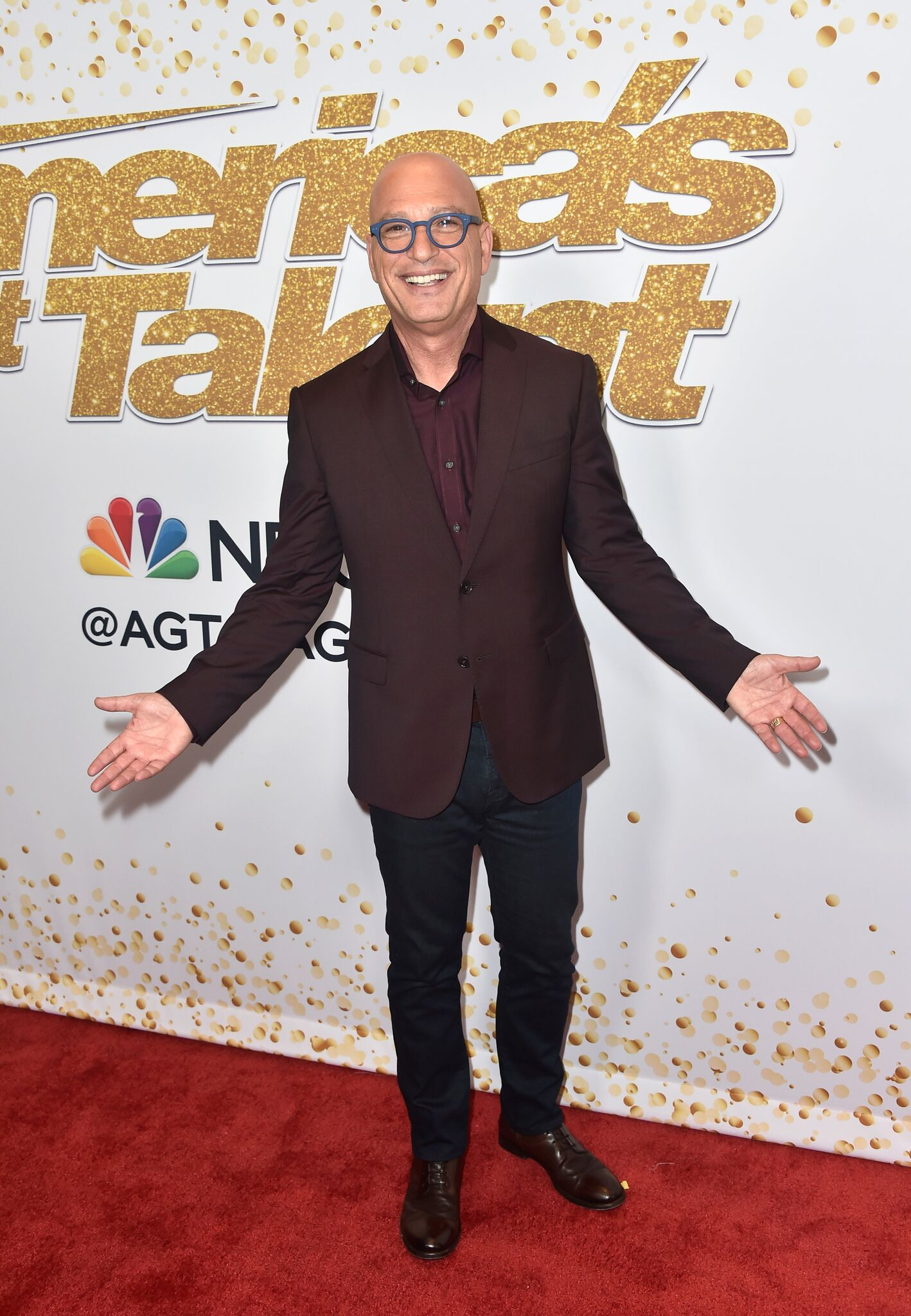 "Judge Howie Mandel arrives for the ""America's Got Talent"" Season 13 Live Show at Dolby Theatre 