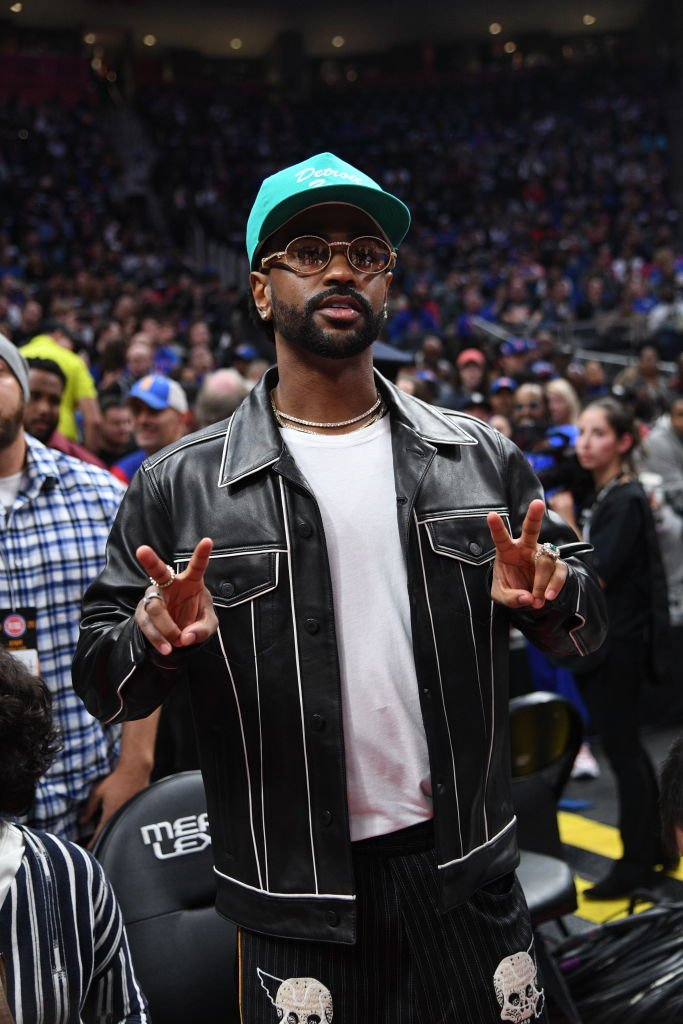 Rapper Big Sean poses for photo before Atlanta Hawks v Detroit Pistons game on October 24, 2019 | Photo: Getty Images