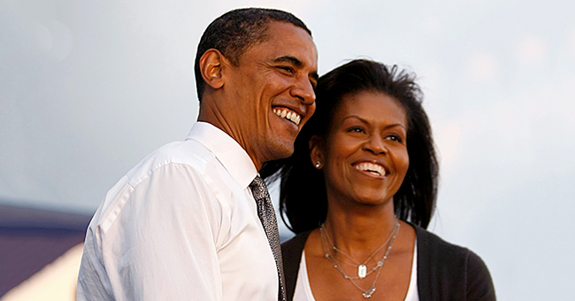 Michelle Obama Shares a Sweet Throwback Photo of Barack, Malia, and Sasha for Father's Day