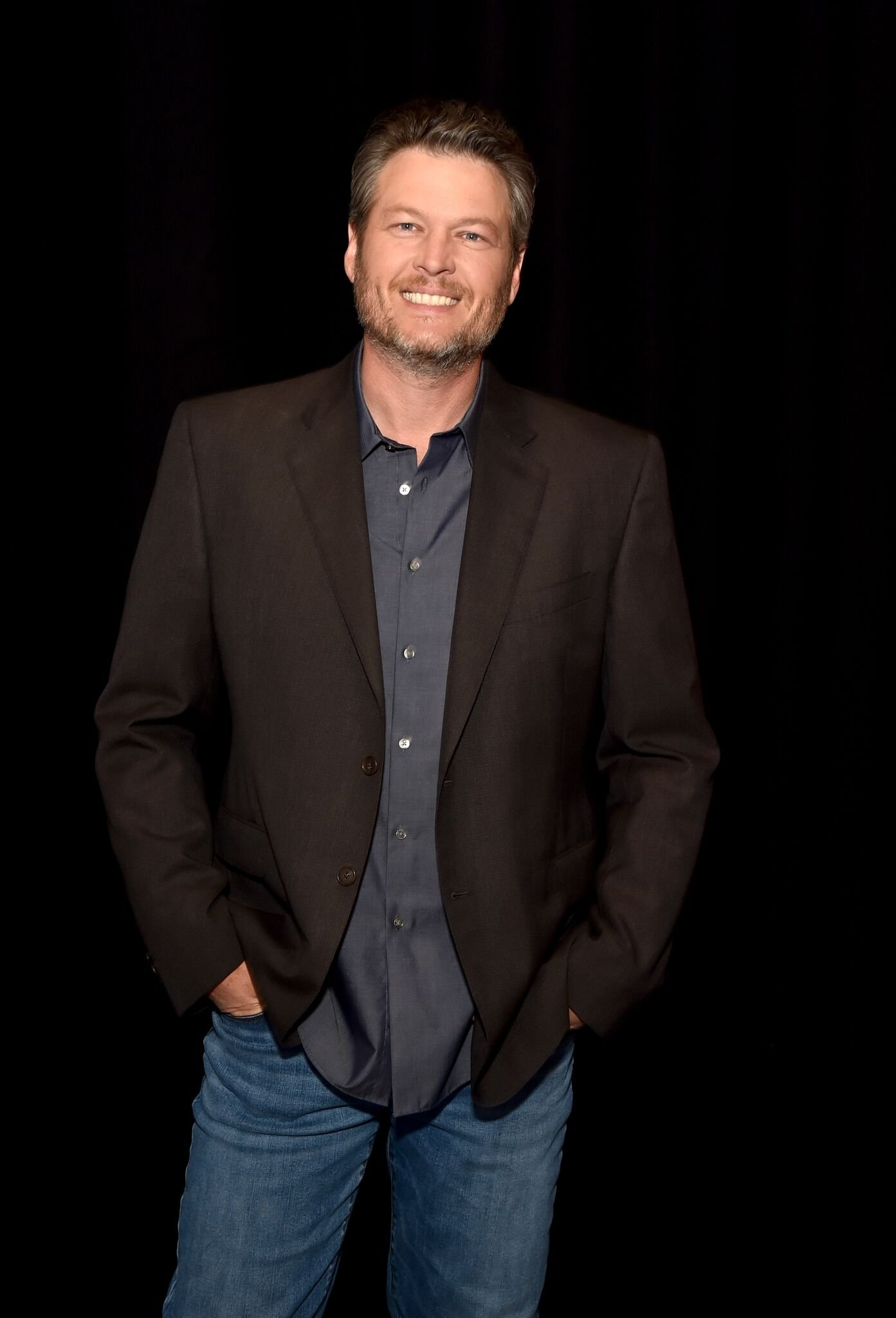"Blake Shelton poses for a photo during NBC's ""The Voice""  