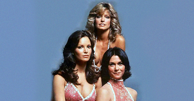 Jaclyn Smith of 'Charlie's Angels' Wears a Pink Printed Dress in New Photos