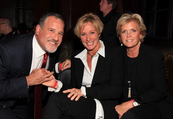 Howard Bragman, Nancy Locke and Meredith Baxter at the 'Power Up' 10th Annual Power Premiere Awards on November 7, 2010 | Photo: Getty Images