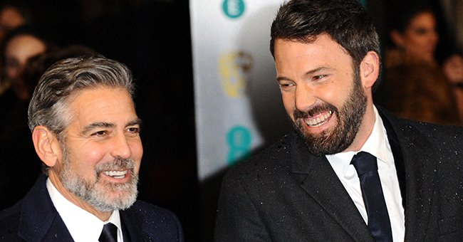 George Clooney and Ben Affleck at the EE British Academy Film Awards on February 10, 2013 in London, England. | Photo: Getty Images