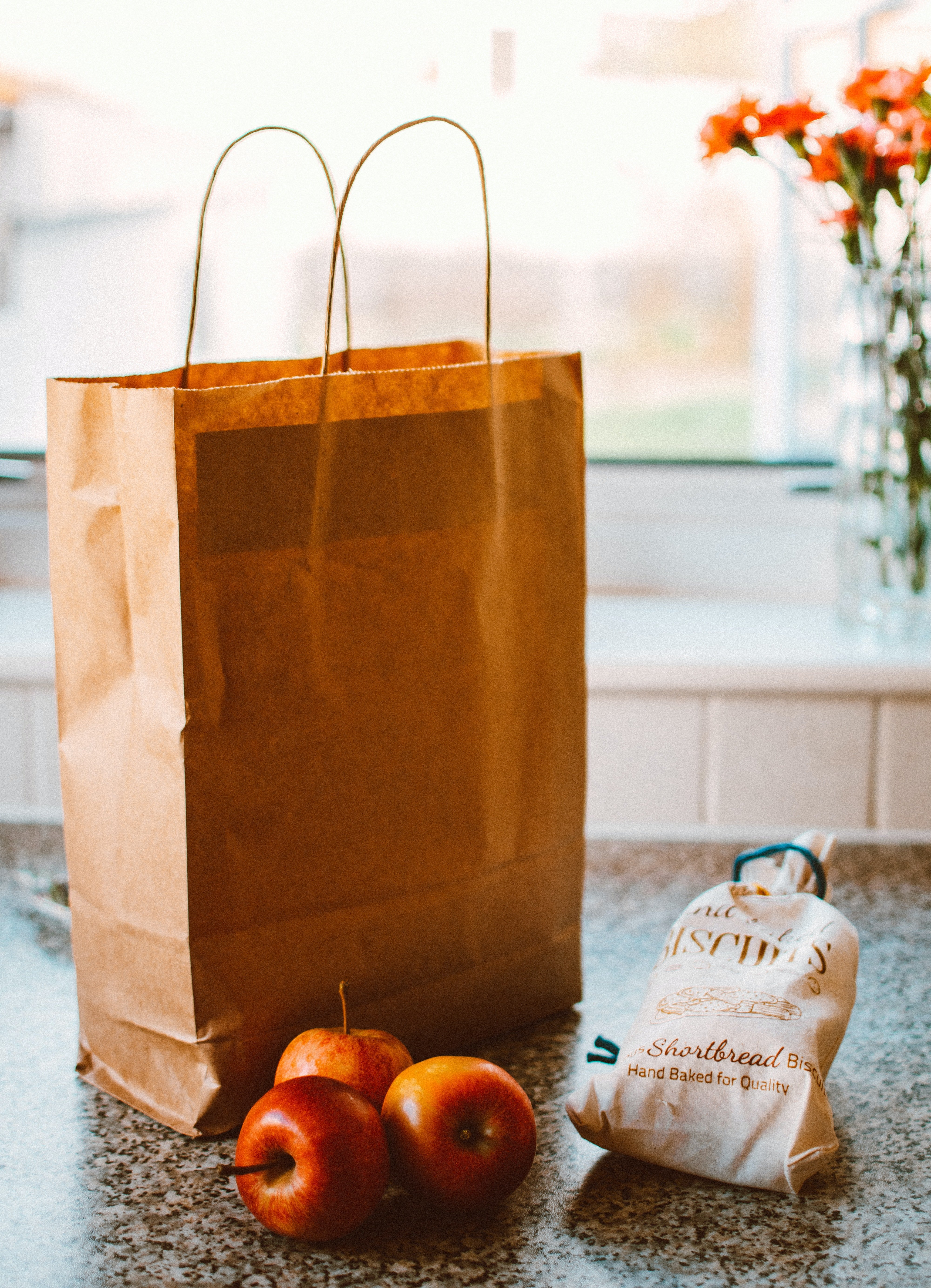 He was unpacking the groceries when we got back at him—poor bastard | Source: Pexels