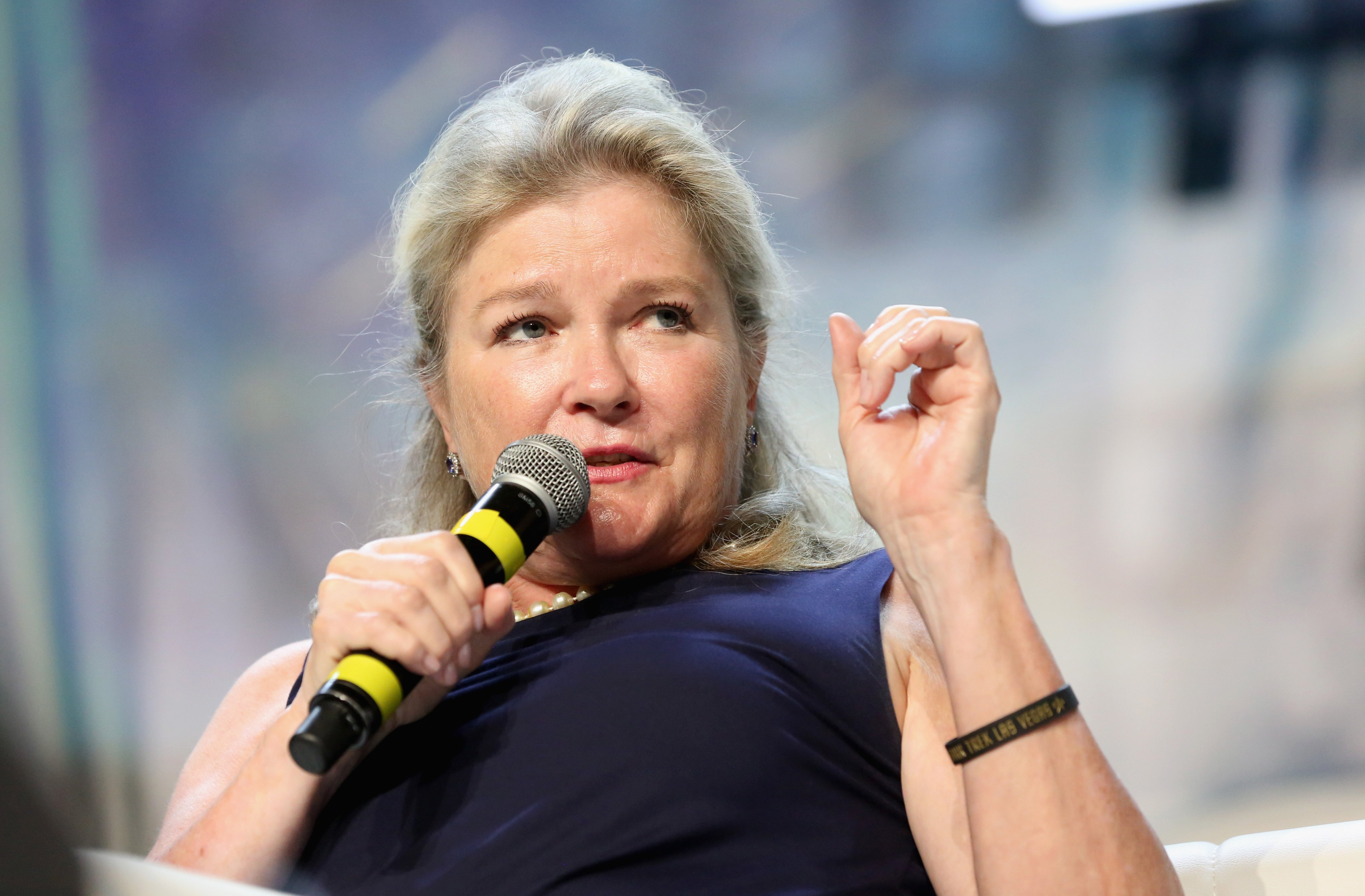 Kate Mulgrew on August 4, 2018 in Las Vegas, Nevada | Photo: Getty Images