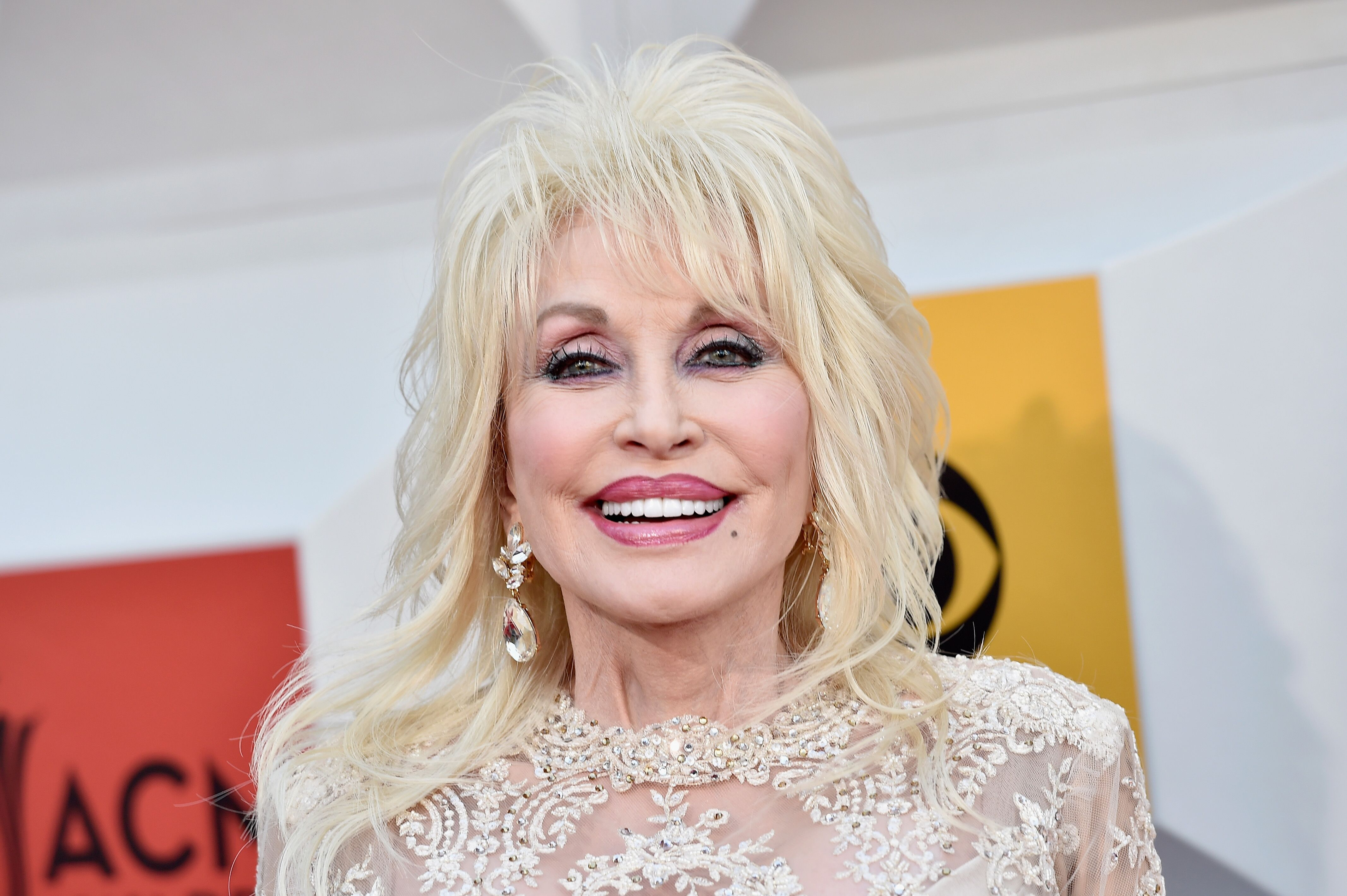 Dolly Parton at the 51st Academy of Country Music Awards. | Source: Getty Images