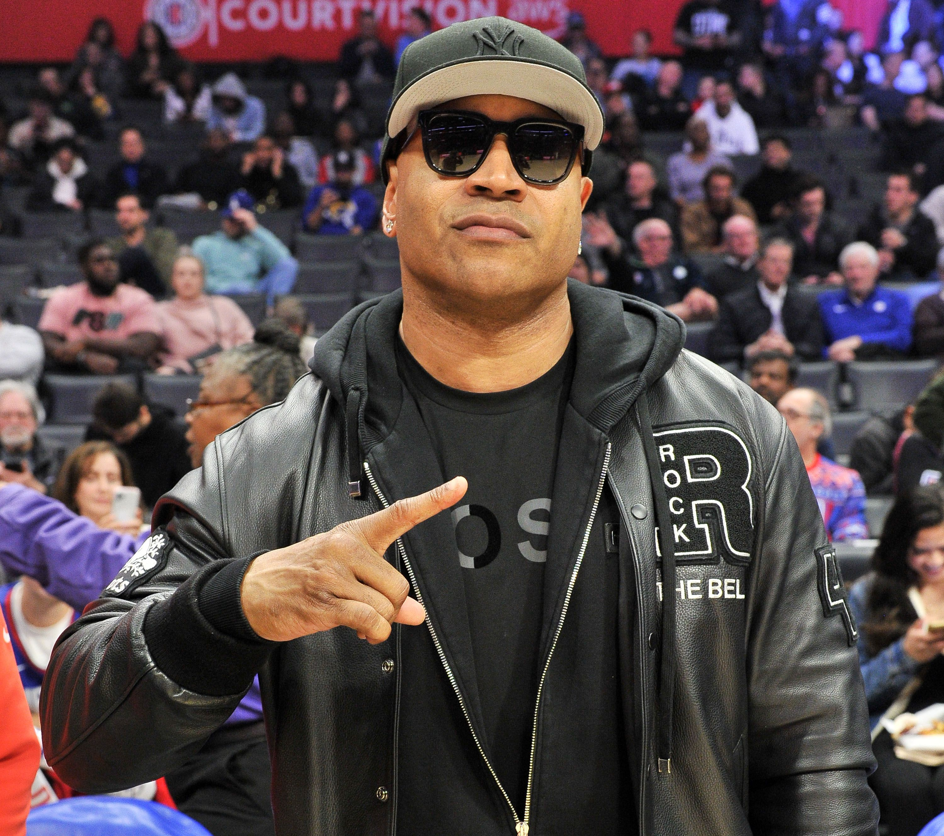 LL Cool J at a basketball game on December 17, 2019 in Los Angeles.   Photo : Getty Images