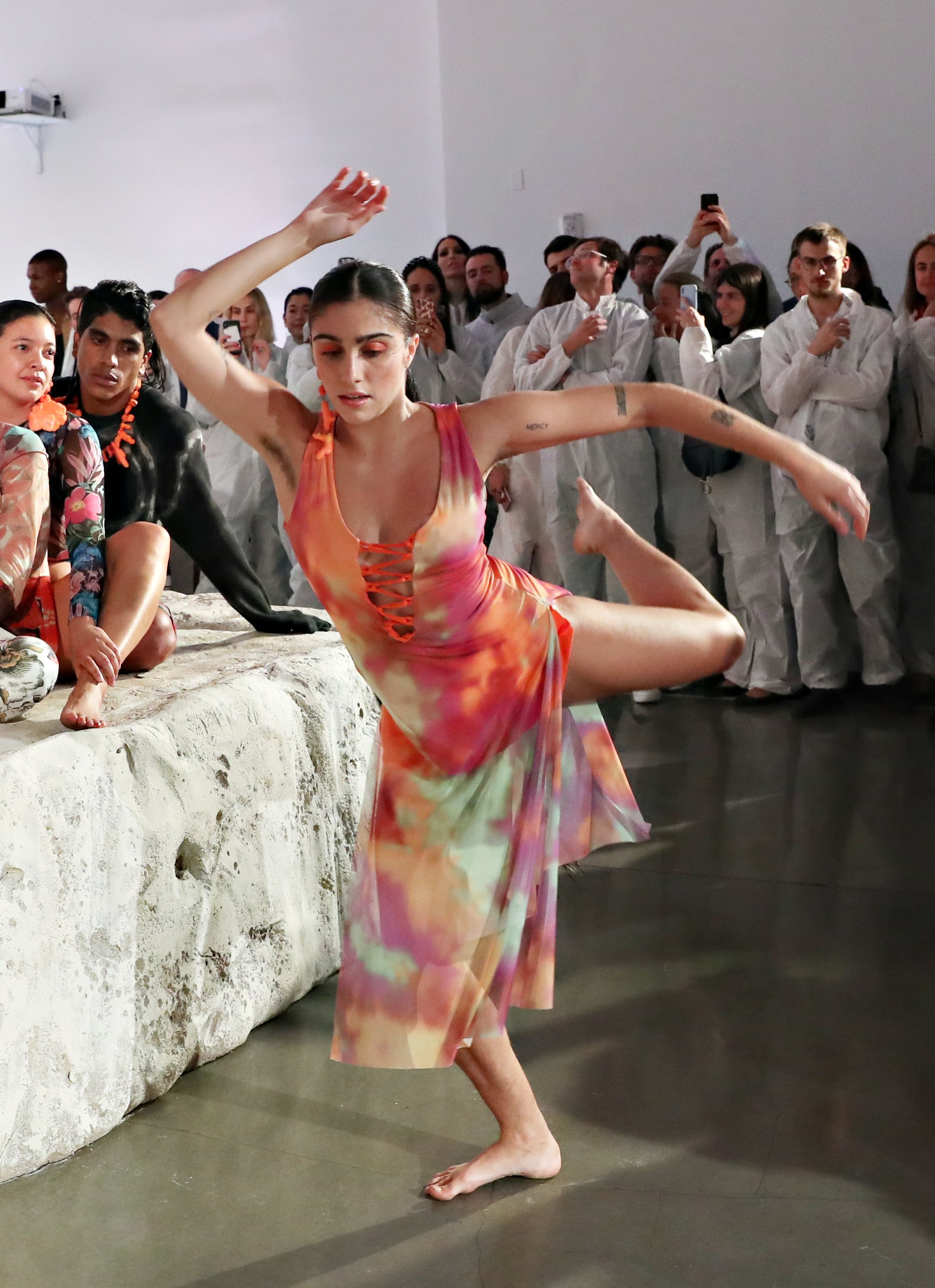 Lourdes Leon performs in the Desigual X Carlota Guerrero Show during Art Basel Miami 2019 at The Temple House on December 6, 2019| Source: Getty Images)