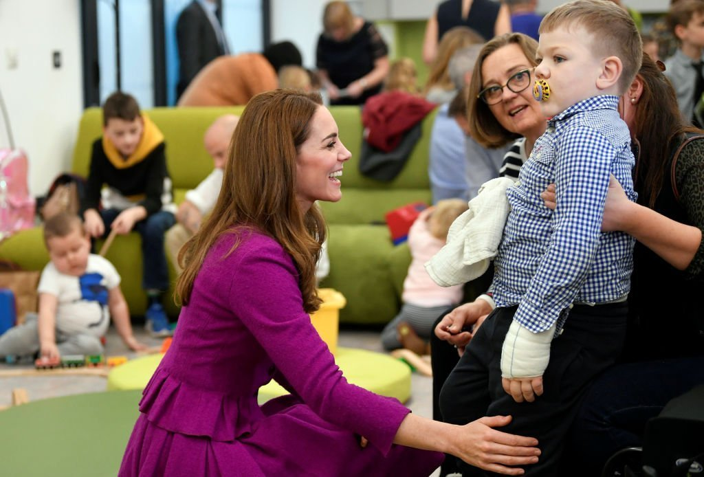 Catherine, Duchess of Cambridge meets children and their families at The Nook Children Hospice on November 15, 2019 in Framingham Earl, Norfolk. | Photo: Getty Images