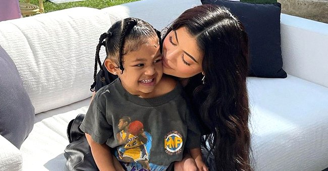 Kylie Jenner's Daughter Stormi Styled Her Hair in Braids — Does She Look Like Dad Travis Scott?