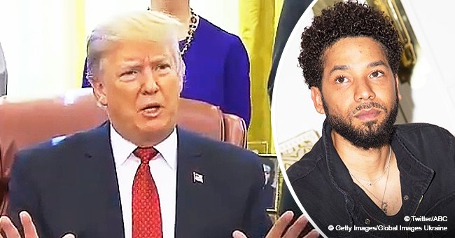 Donald Trump condemns 'horrible' attack that left 'Empire's Jussie Smollett with facial injuries