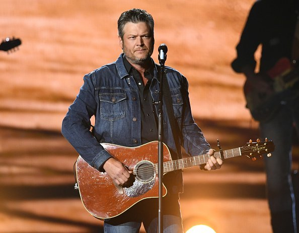 Blake Shelton at MGM Grand Garden Arena on April 07, 2019 in Las Vegas, Nevada | Photo: Getty Images