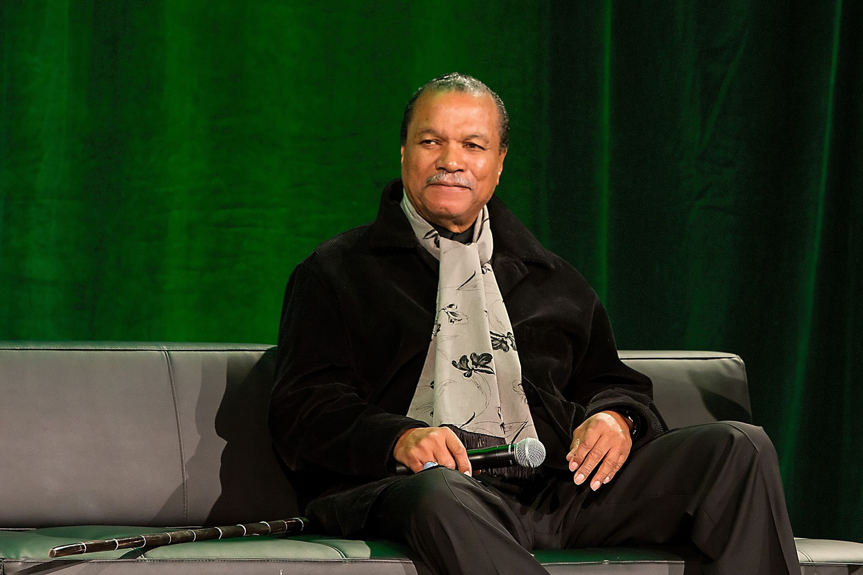 "Billy Dee Williams attends a speaking engagement for ""Star Wars"" 