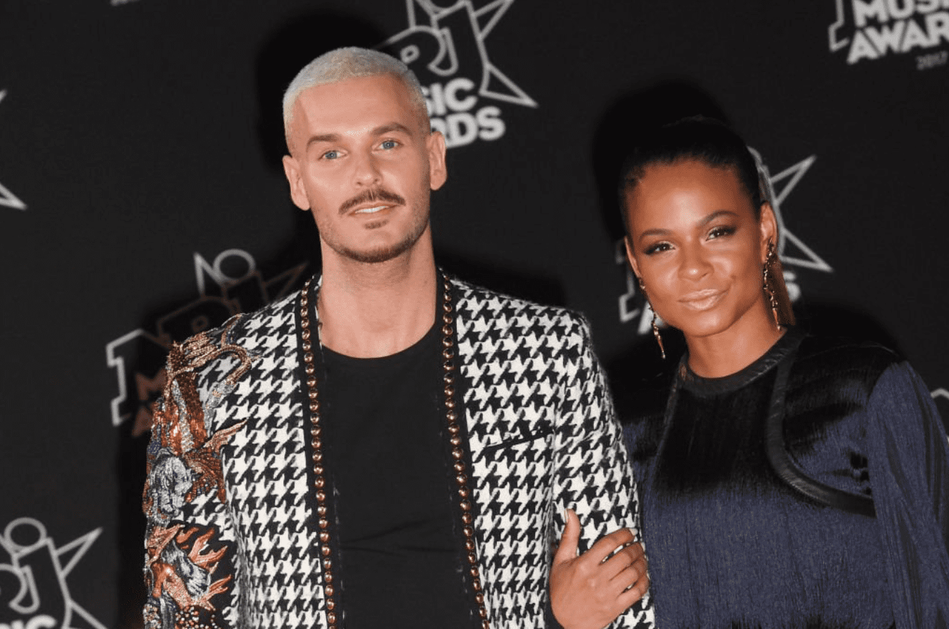 French singer-songwriter Matt Pokora and actress Christina Milian attend the 2017 NRJ Music Awards in Cannes, France. | Source: Getty Images