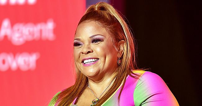 Tamela Mann Reveals She Enjoys Her Workout as She Shows Her Figure in a Tight Fitting Outfit