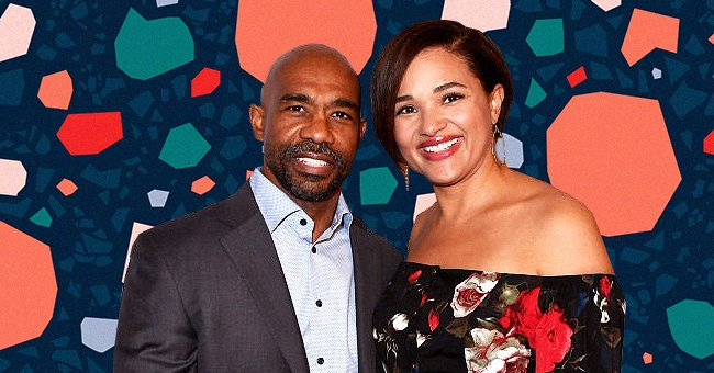 Michael Beach and Elisha Wilson at The BAFTA Los Angeles Tea Party on January 5, 2019 | Photo: Getty Images