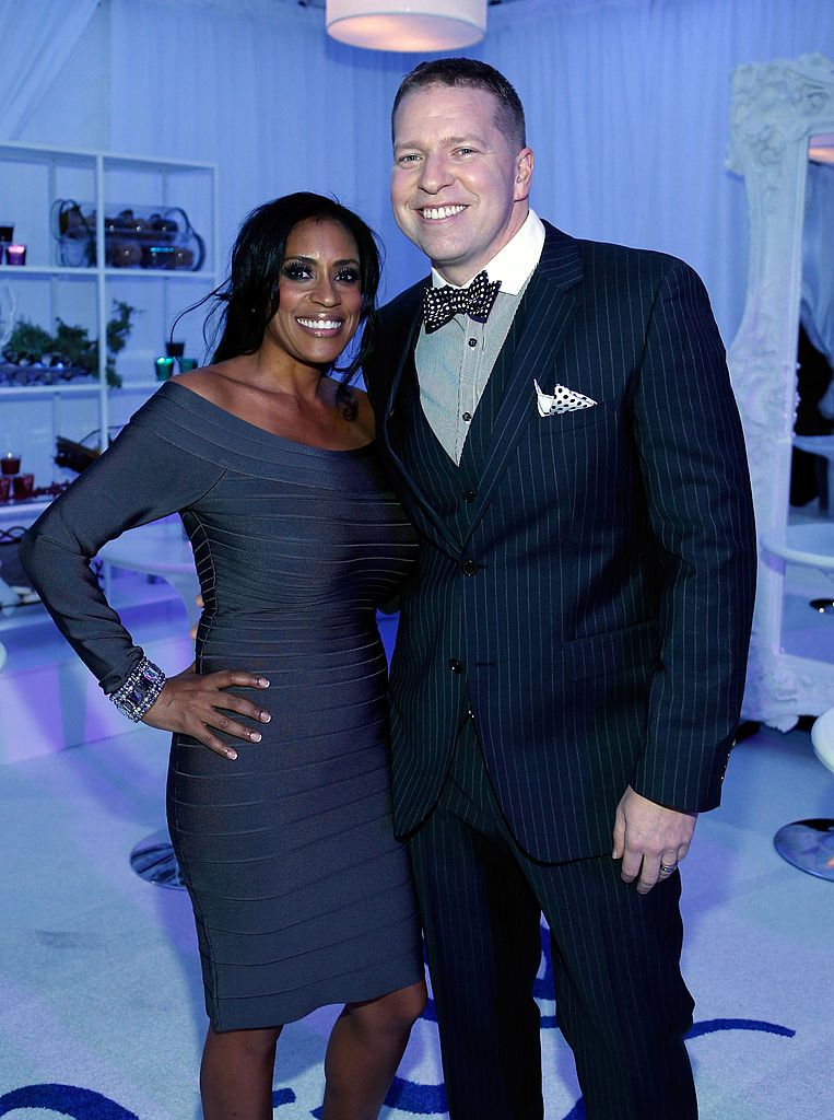 Gary Owen and Kenya Owen at the Glade Suite at the Soul Train Awards on November 8, 2012. | Photo: Getty Images