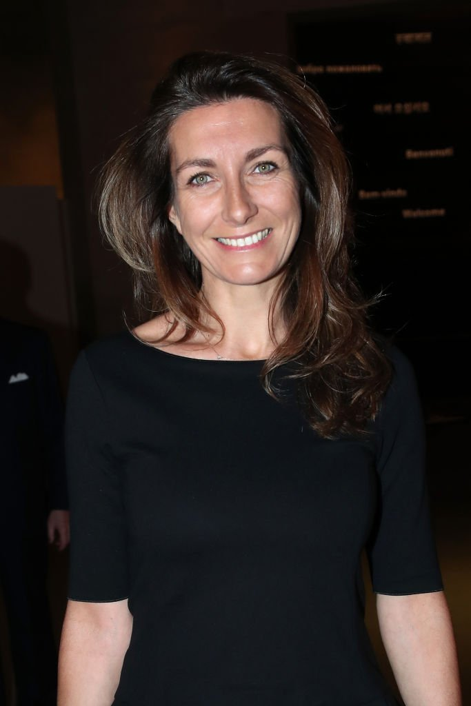 La journaliste Anne-Claire Coudray assiste au Grand Dîner du Louvre le 19 novembre 2019 à Paris, France. | Photo : Getty Images.