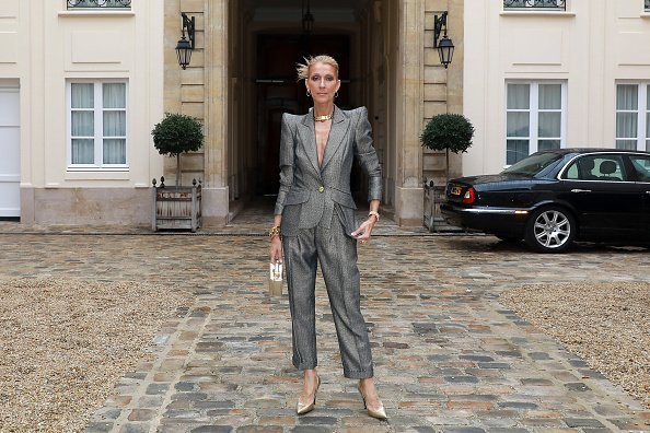 Celine Dion at the RVDK Ronald Van Der Kemp Haute Couture Spring Summer 2019 show on January 23, 2019 in Paris, France | Photo: Getty Images
