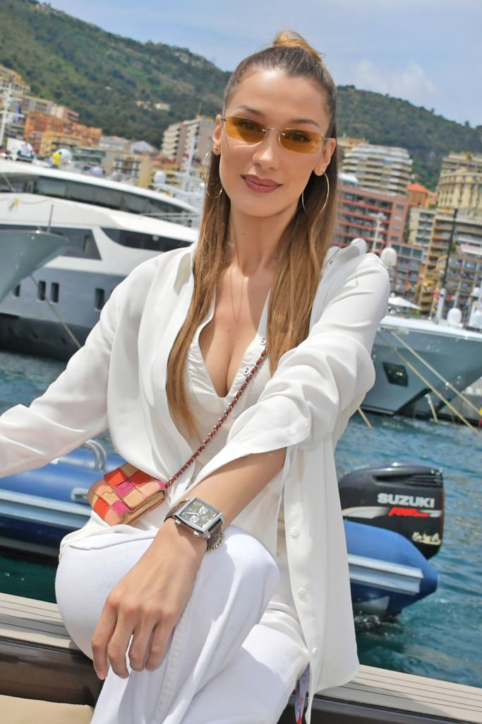 Bella Hadid à Monaco, le 26 mai 2019. Photo : Getty Images