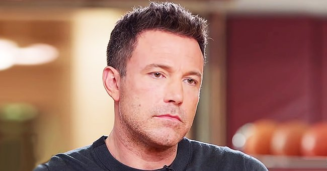 Ben Affleck Tells Diane Sawyer He Wants to Go Back In Time to Fix His past Mistakes but Can't