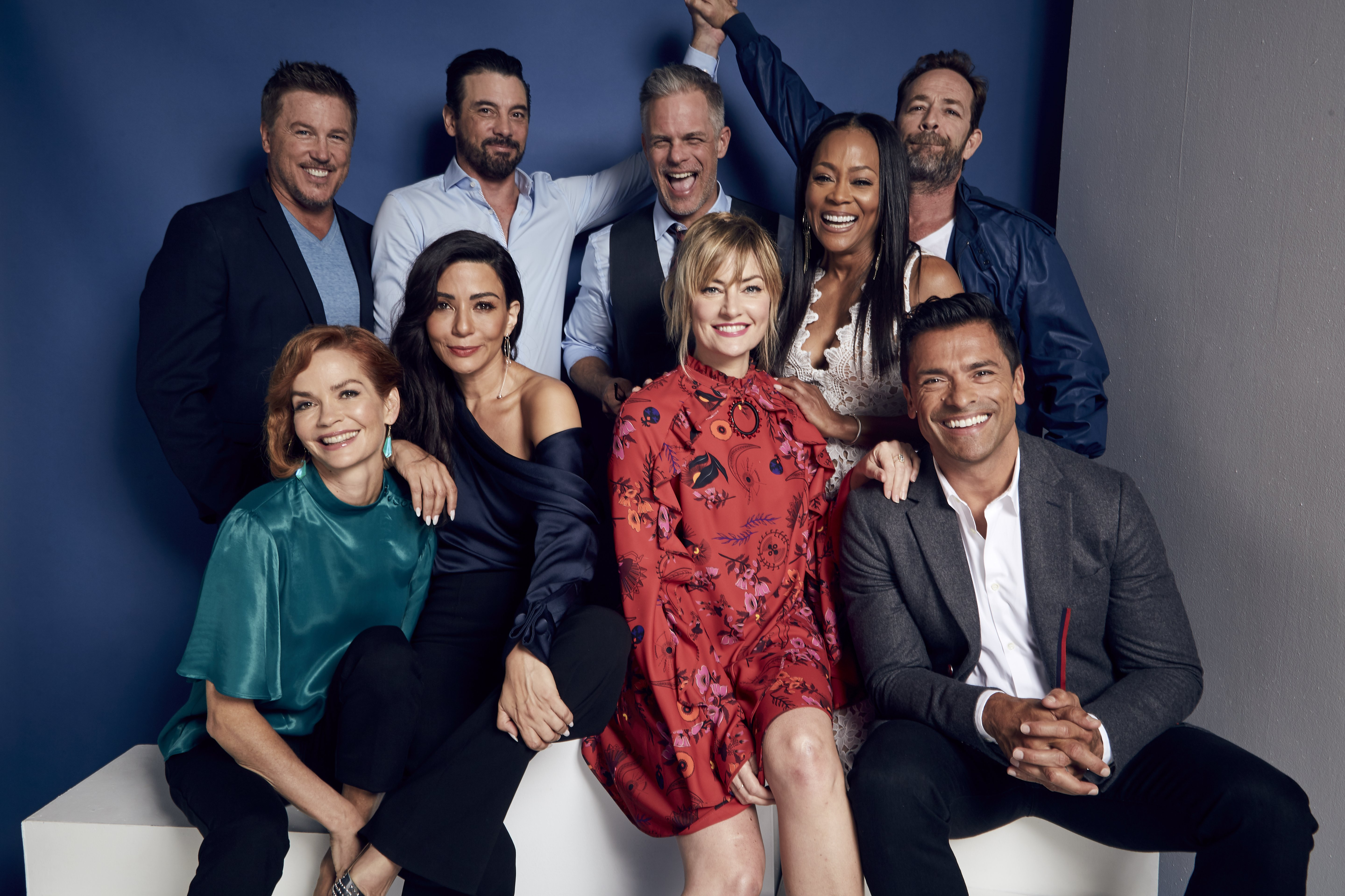 """The cast of """"Riverdale"""" at the 2018 Summer Television Critics Association Press Tour 