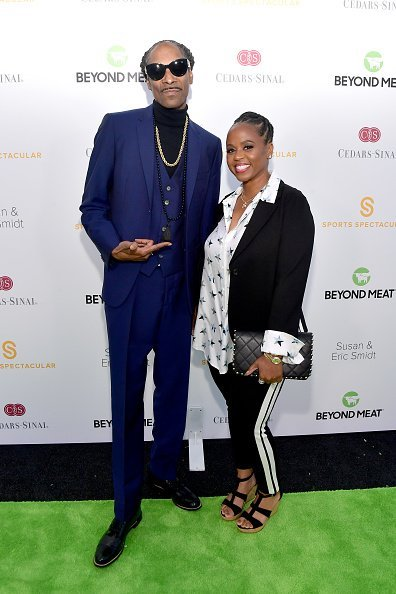 Snoop Dogg and Shante Broadus attend the 34th Annual Cedars-Sinai Sports Spectacular at The Compound | Photo: Getty Images