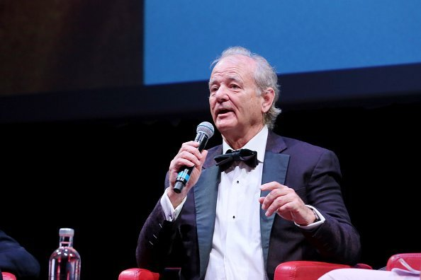 Bill Murray attends the masterclass during the 14th Rome Film Festival on October 19, 2019   Photo: Getty Images