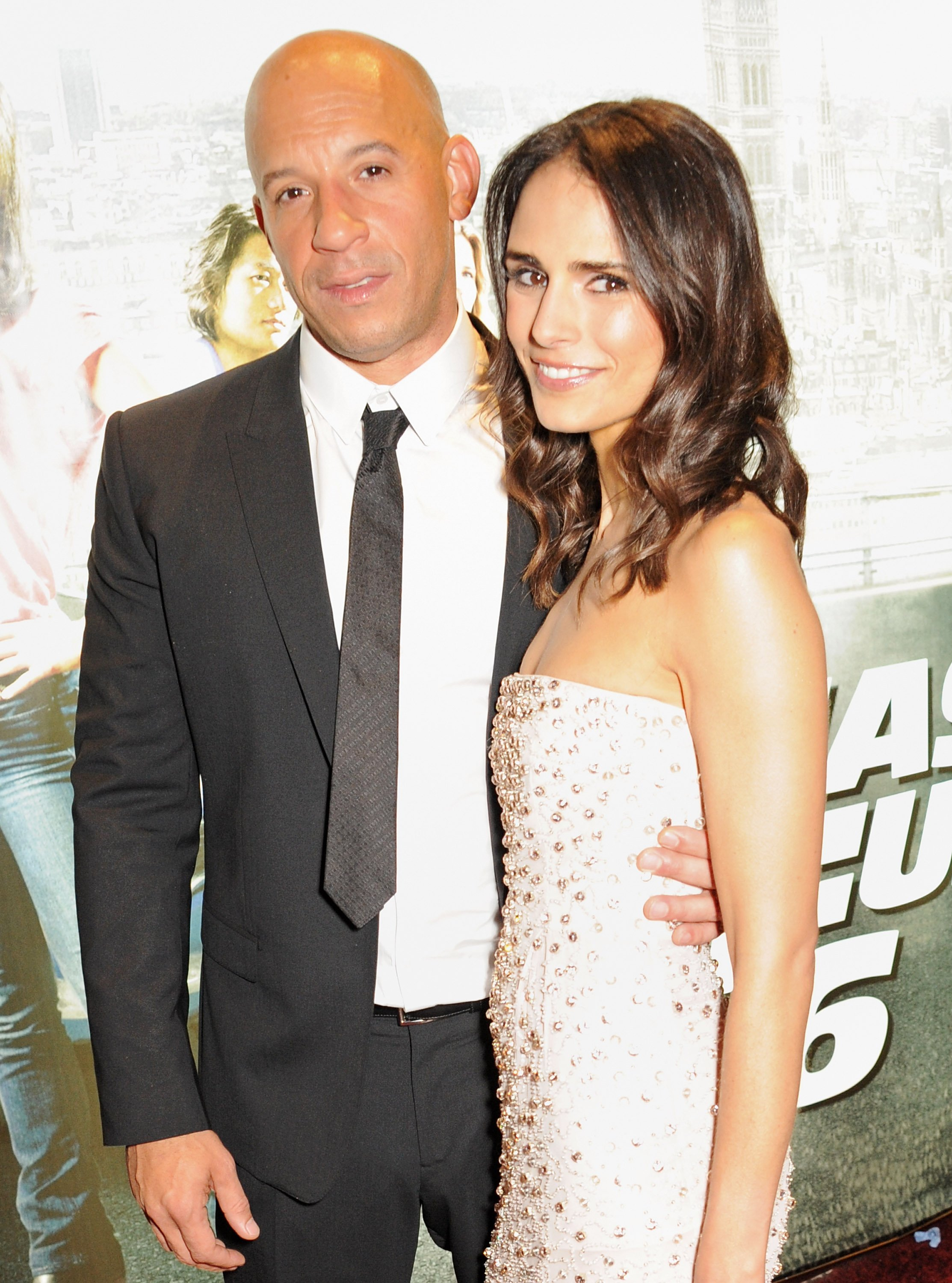 Vin Diesel and Jordana Brewster at the World Premiere of 'Fast & Furious 6' at Empire Leicester Square in London, England | Photo: Dave M. Benett/WireImage via Getty Images