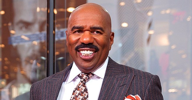 Steve Harvey's Daughter-In-Law Amanda Shares Photo Update of Her Daughter Joey a Month after Her Birth