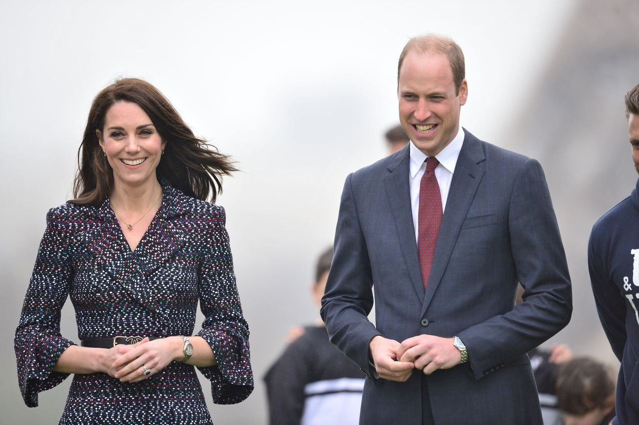 Prince William and Kate Middleton in Paris. | Source: Getty Images