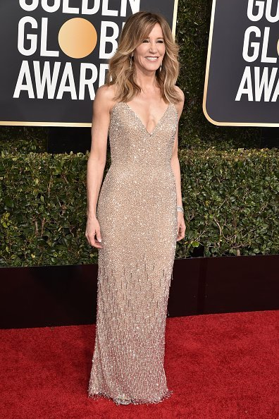 Felicity Huffman attends the 76th Annual Golden Globe Awards at The Beverly Hilton Hotel | Photo: Getty Images