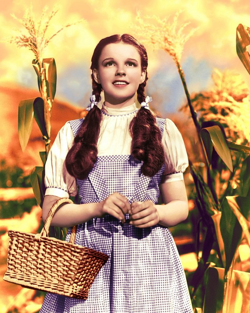 "Judy Garland as Dorothy Gale in ""The Wizard of Oz"" circa 1939 